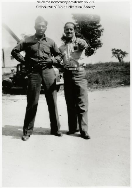 Harding Moore and Dawson H. Carney, North Yarmouth, 1942