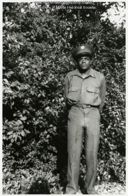 Pvt. Charles Rountree, North Yarmouth, 1942