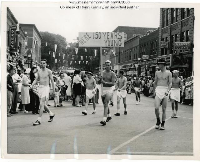 Pin up Boys, Houlton, 1957