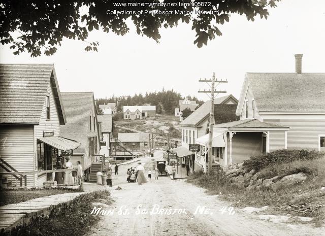 Main Street, South Bristol, 1911