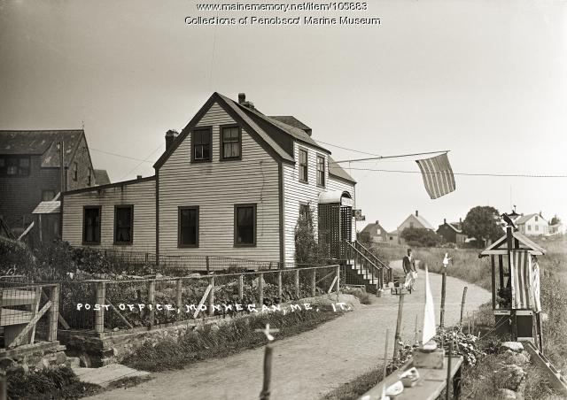 Post Office, Monhegan, 1921