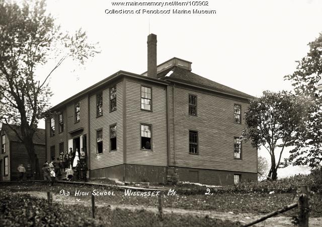 Garrison Hill School, Wiscasset, ca. 1910