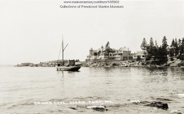 Grimes Cove and Ocean Point, East Boothbay, ca. 1915