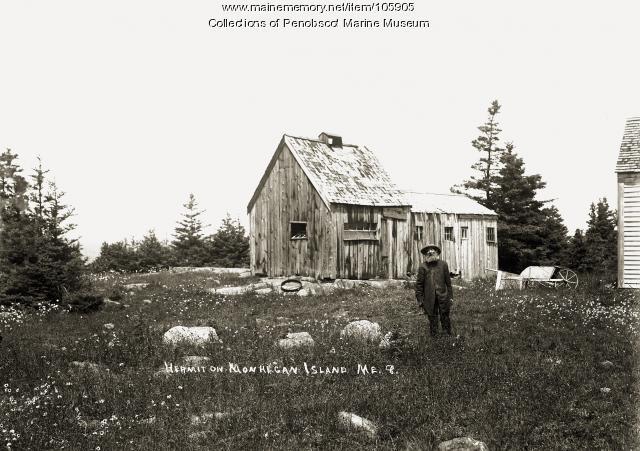 Hermit, Monhegan Island, ca. 1910