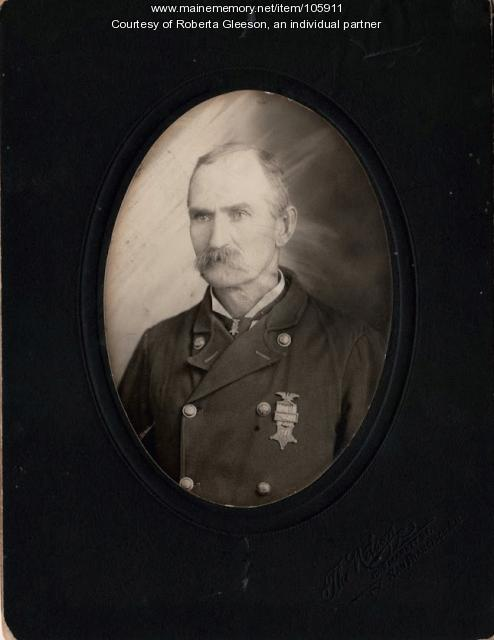 Pvt. John Seneca French from Franklin, ca. 1900