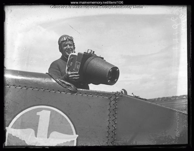 United States Army biplane, ca. 1920