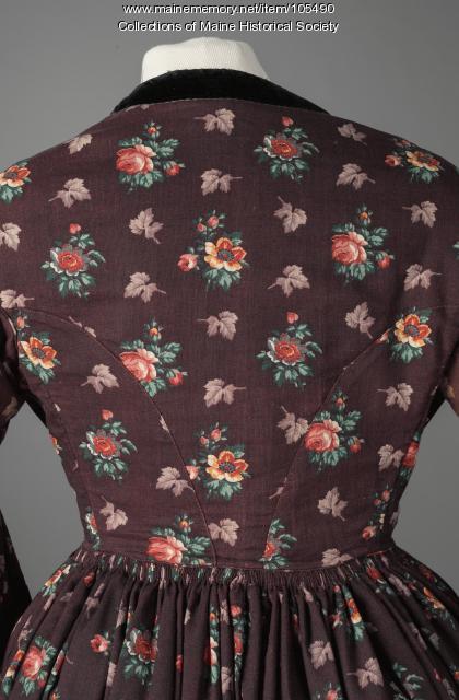 """Ordinary"" dress, ca. 1845"