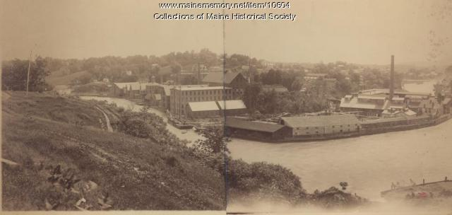 Pejepscot Paper Company,  circa 1900