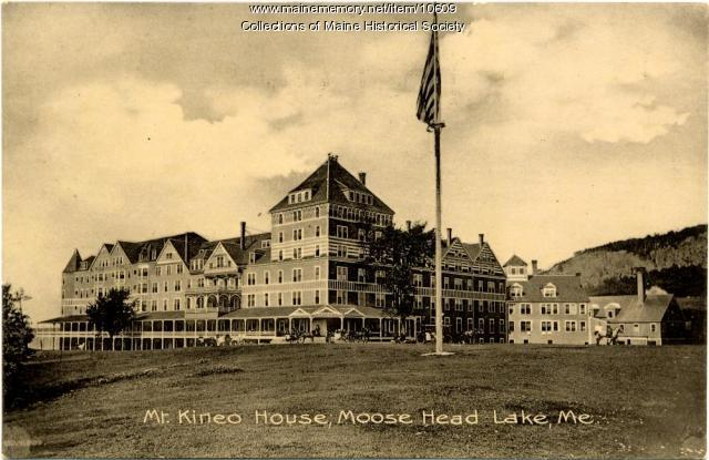 Mt. Kineo House,  ca. 1900