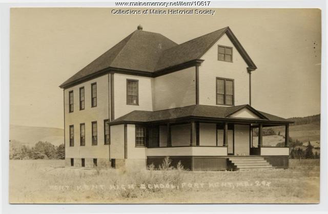 Fort Kent High School, Fort Kent, ca. 1915