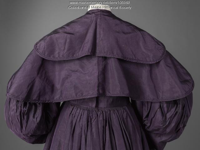 Leavitt family coat-dress, Eastport, ca. 1830