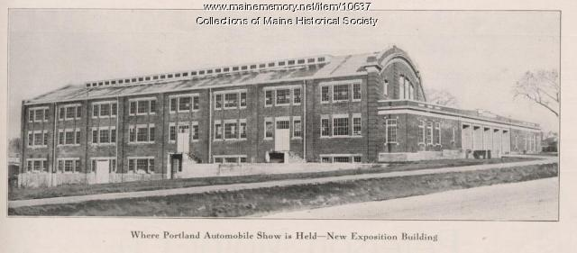 Exposition building, Board of Trade, Portland, ca. 1900