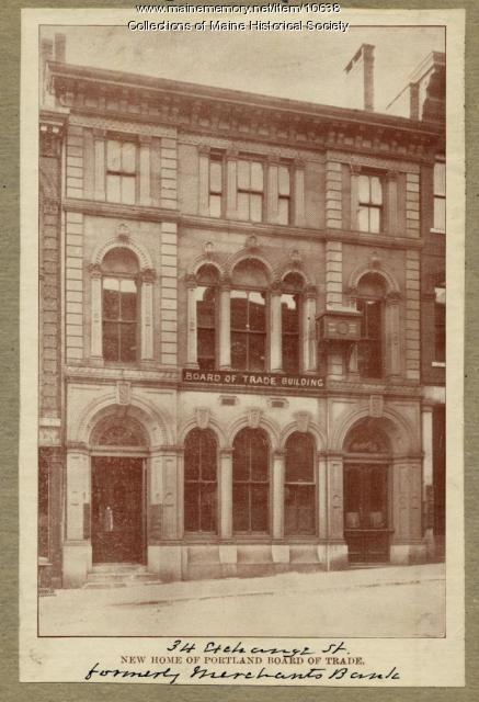 Board of Trade Building, Portland, 1907