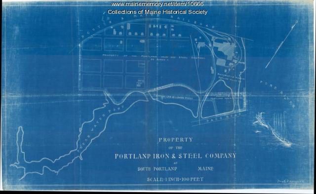 Property of the Portland Iron and Steel Company, October 1911
