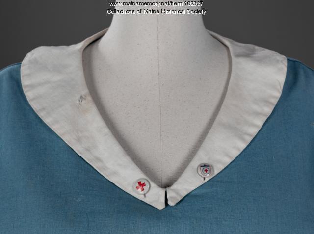 World War I Red Cross Canteen uniform, ca. 1917