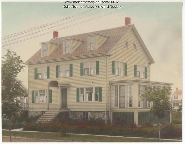 Sylvan Site house, 14 Adelbert St., South Portland, ca. 1920s