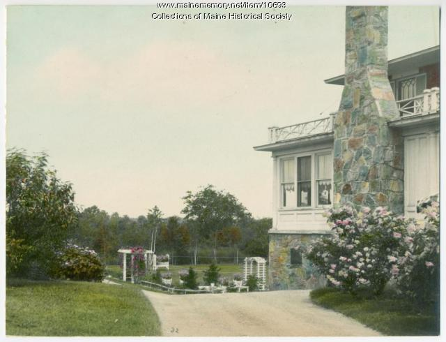 Garden, Sylvan Site, South Portland, ca. 1920s
