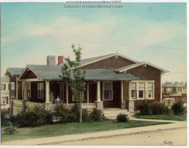 Bungalow, 970 Sawyer Street, South Portland, c. 1920s
