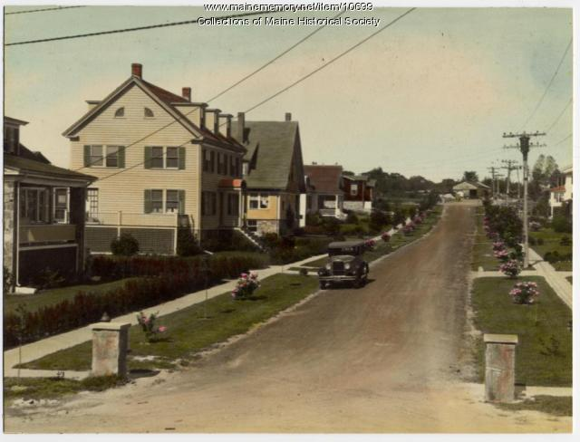 Adelbert Street, South Portland, c. 1920s