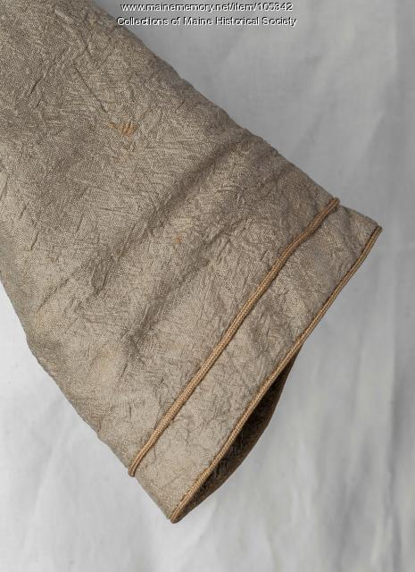 Zilpah Wadsworth Longfellow's spencer jacket, Portland, 1827