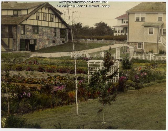 Gardens on Sawyer Street, South Portland, ca. 1920s