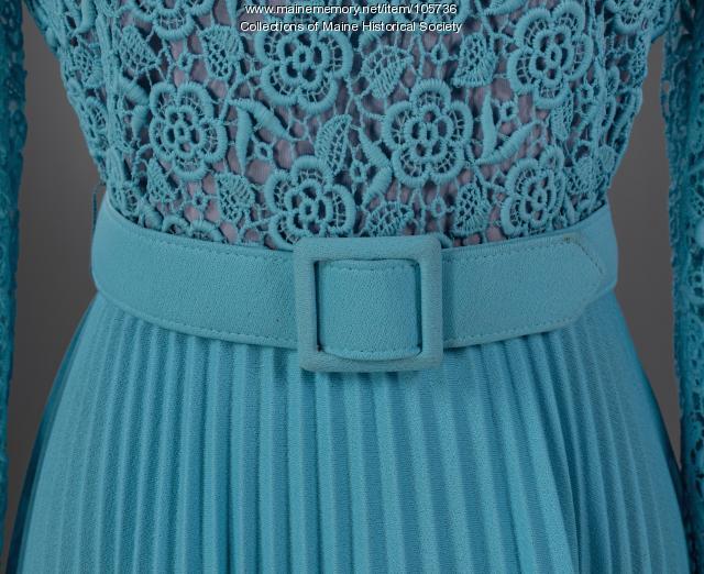 "Dress made for ""Porteous, Mitchell & Braun"" department store, Portland, ca. 1965"