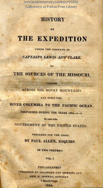 Journals of Lewis and Clark, Biddle-Allen edition