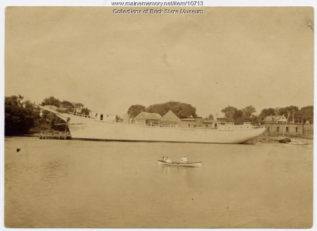 The schooner Kennebunk, 1918