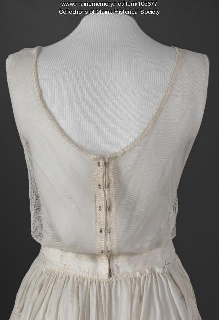 Summer dress, North Windham, ca. 1915