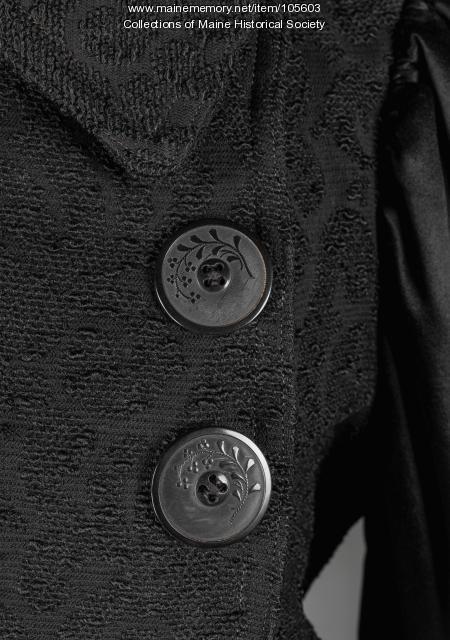 Bouclé coat, Standish, ca. 1895