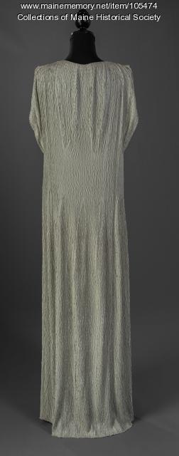 Margaret Payson's Delphic-style gown, Portland, ca. 1938