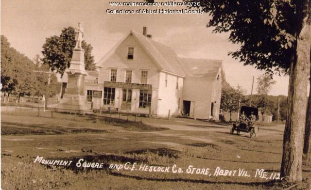 Monument Square, Abbot, ca. 1900
