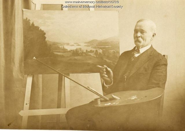 Seth Steward, Monson, ca. 1915