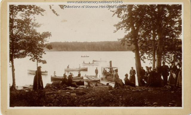 Indian Point, Lake Hebron, Monson