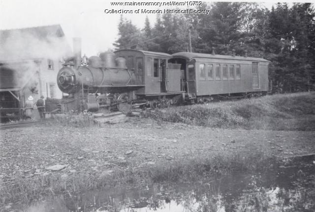 Monson Narrow Gauge Engine #3