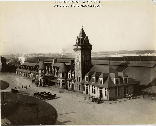 Union Station, Portland, ca. 1910