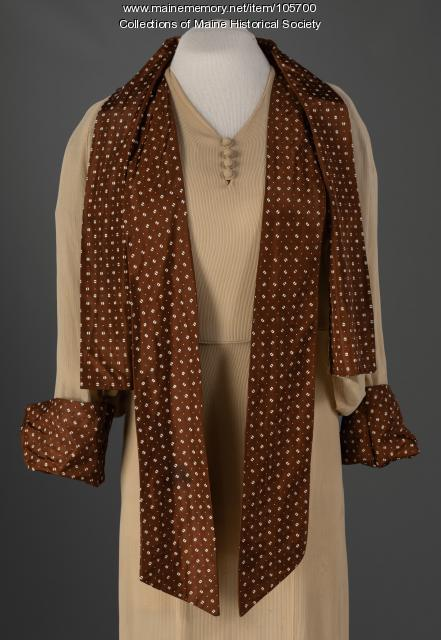 Day dress with jacket, ca. 1930