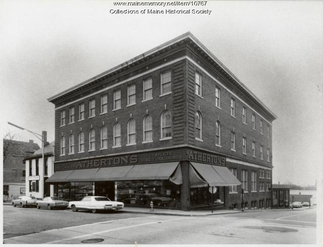 Maine memory network atherton furniture store free for Furniture history society