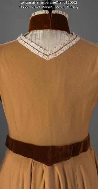Ella May Clark's three-piece dress, Yarmouth, ca. 1901