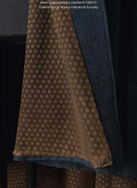 Benjamin Shepard Judkins' felted wool cape, Palmyra, ca. 1835