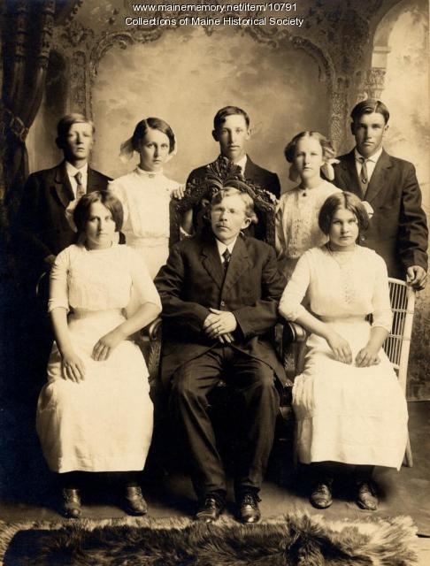 Confirmation Class, Finnish Congregational Church, South Thomaston, ca. 1920