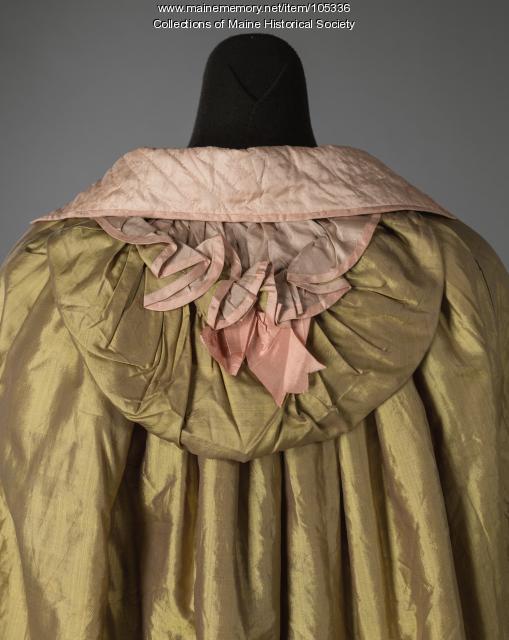Leavitt family winter cape, Eastport, ca. 1810