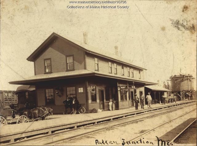 Railroad station, Patten Junction