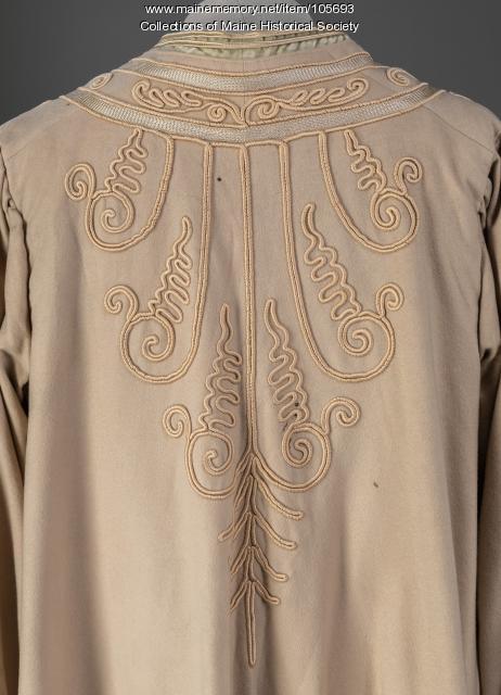 Soutache applique coat, Portland, ca. 1910