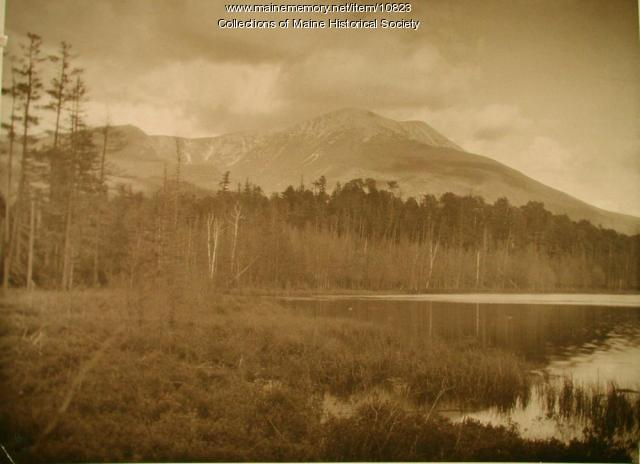 Katahdin, looking east, 1923