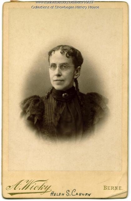 Helen S. Coburn, Skowhegan, ca. 1876