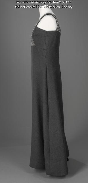 Geoffrey Beene evening dress, Scarborough, ca. 1975