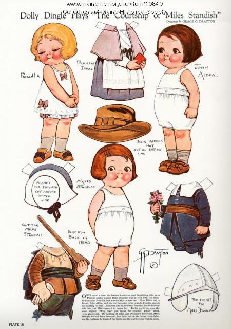 Dolly Dingle paper dolls, 1985
