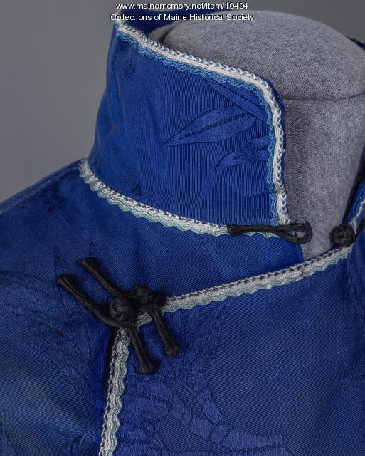 Toy Len Goon's cotton tunic ensemble, ca. 1920