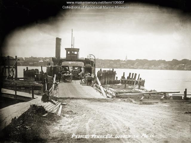 People's Ferry, Woolwich, ca. 1910